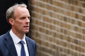 Wielka Brytania: Mimo wezwania, szef MSZ nie wrócił z wakacji, gdy upadał Kabul
