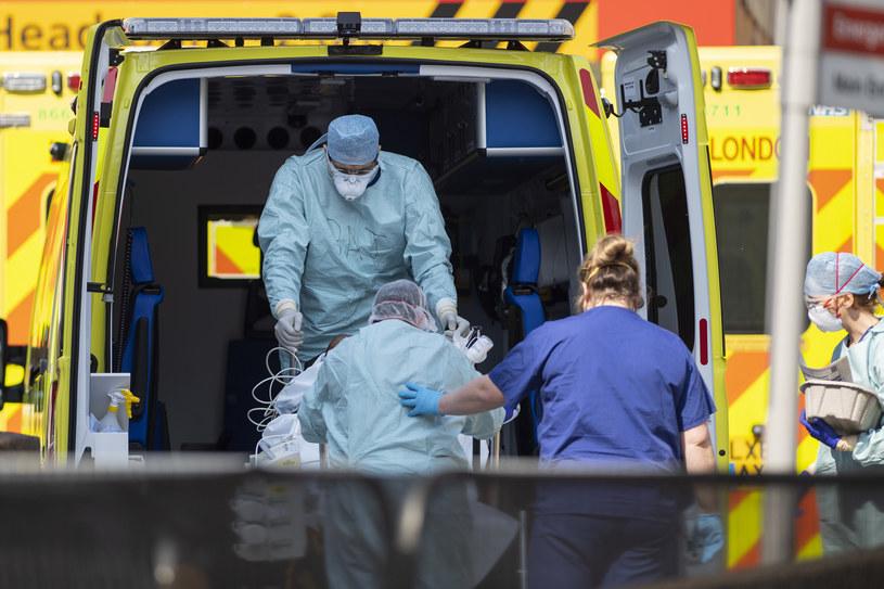 Wielka Brytania: Najwyższy dobowy bilans zgonów z powodu koronawirusa od początku epidemii /Justin Setterfield /Getty Images