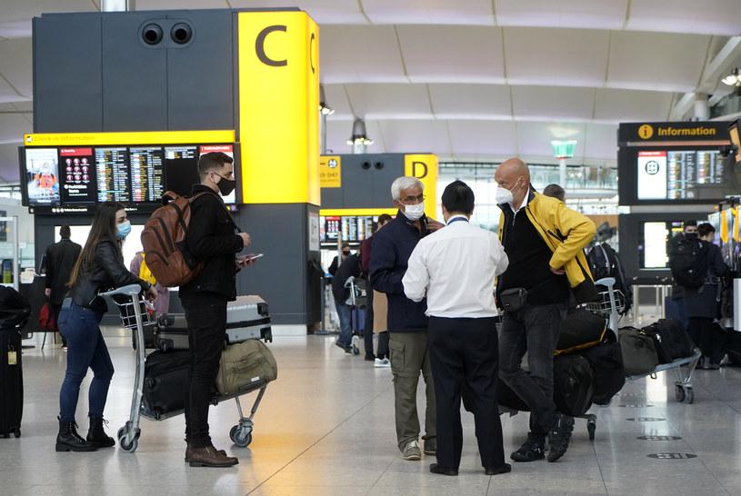 Wielka Brytania zamyka granice dla wszystkich przyjazdów z Ameryki Południowej oraz Portugalii i Wysp Zielonego Przylądka /NIKLAS HALLE'N / AFP /
