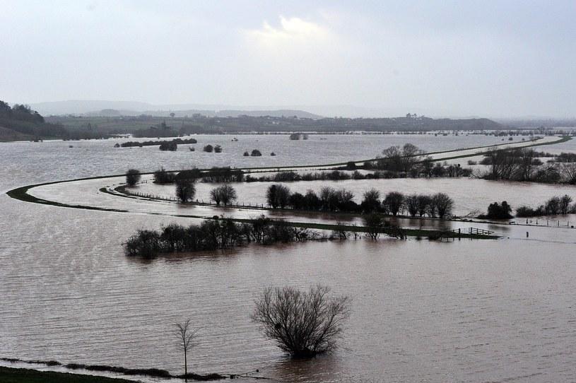 Wielka Brytania zmaga się z powodziami /AFP