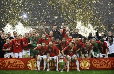 Wielka feta Manchesteru United. /AFP