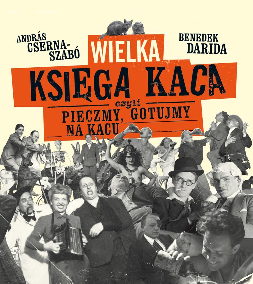 Wielka księga kaca - okładka książki. /materiały prasowe