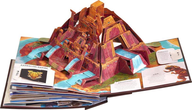 Wielka Księga POP-UP World of Warcraft /materiały prasowe