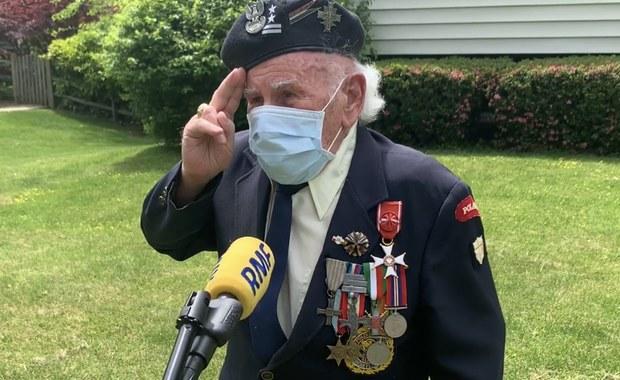 Wielka niespodzianka dla bohatera z Monte Cassino. Polonia oddała hołd 95-letniemu weteranowi