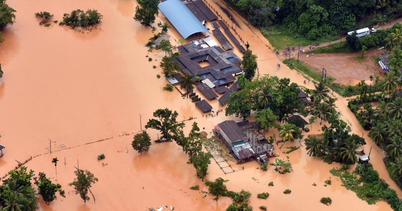 Wielka powódź na Sri Lance. Rośnie liczba ofiar