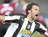 Wielka radość Alessandro Del Piero... /AFP