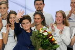 Wielka radość w PiS po wyborczym zwycięstwie