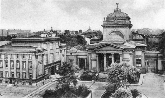 Wielka Synagoga w Warszawie. Widok od strony ulicy Tłomackie /Domena publiczna /Wikimedia