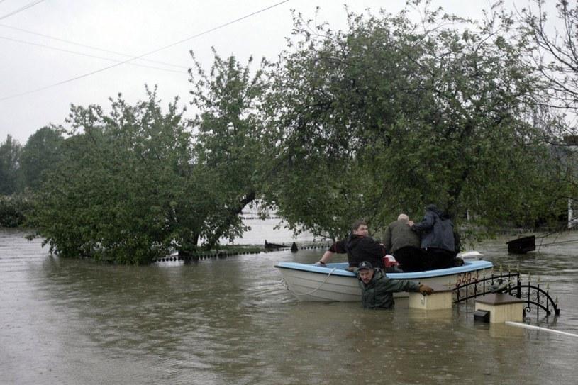 Wielka woda w Bieruniu /Marcin Tomalka /East News
