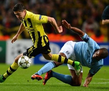 Wielka wymiana Borussii z Manchesterem City? Lewandowski za Dżeko?