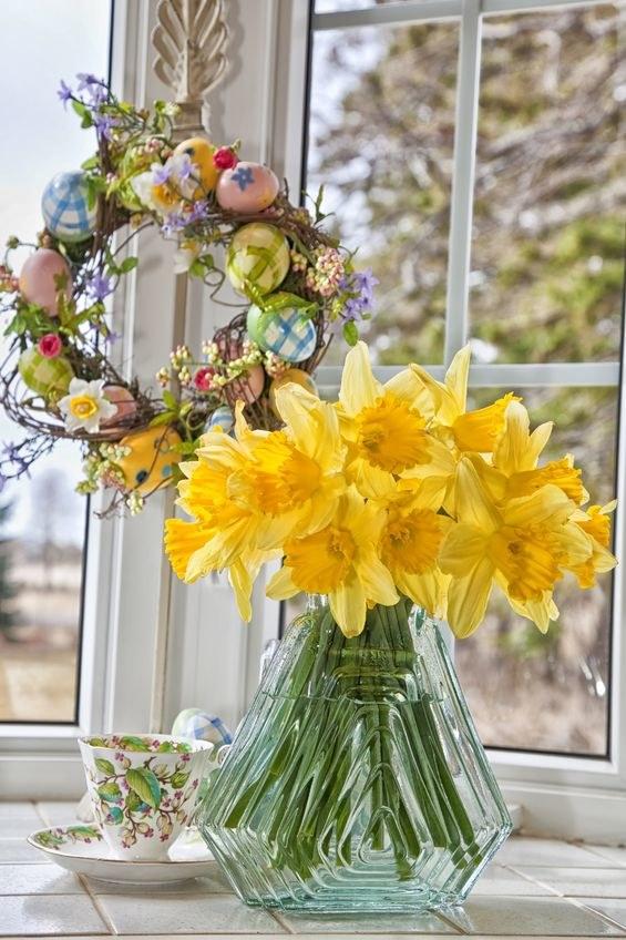 Wielkanocne Dekoracje Domu I Stołu Piękne Dekoracje