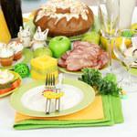 Wielkanocne potrawy dwóch wersjach cenowych
