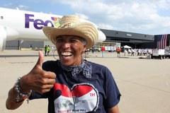 Wielki festyn na lotnisku im. Dullesa pod Waszyngtonem