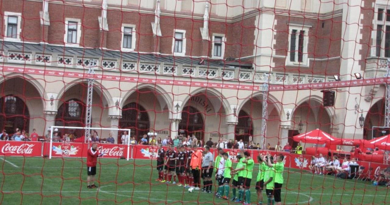 Wielki finał Coca-Cola Cup na Rynku w Krakowie