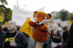 Wielki Marsz dla zwierząt na ulicach Warszawy