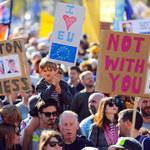 Wielki marsz przeciwników Brexitu w Londynie