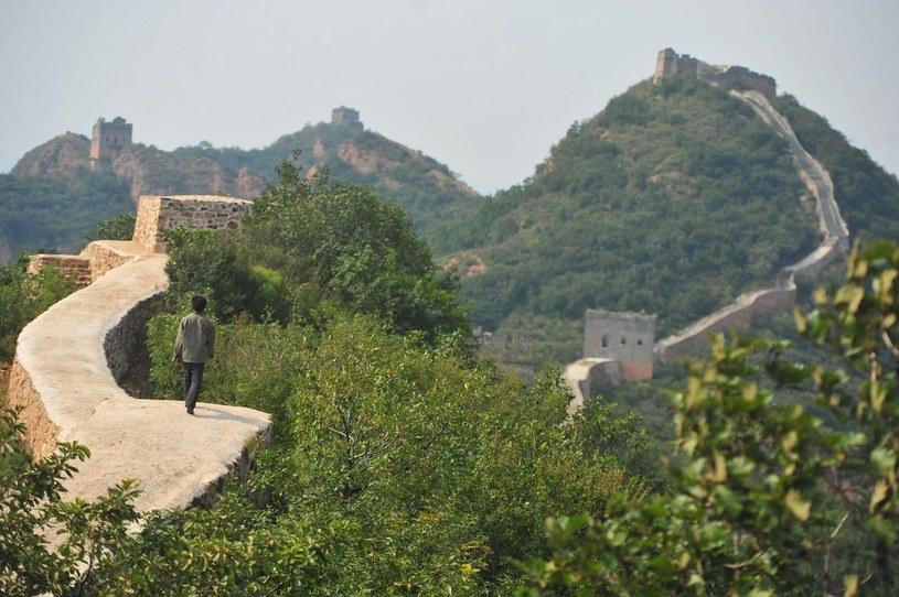 Wielki Mur Chiński /AFP