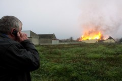 Wielki pożar w Jankowie Przygodzkim