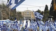 """Wielki protest w Atenach. """"Ręce precz od Macedonii"""""""