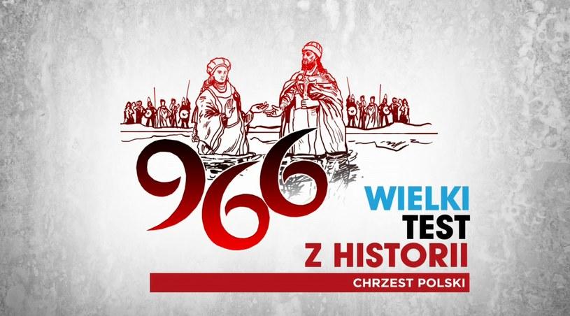 """""""Wielki Test z Historii. Chrzest Polski"""" /TVP"""