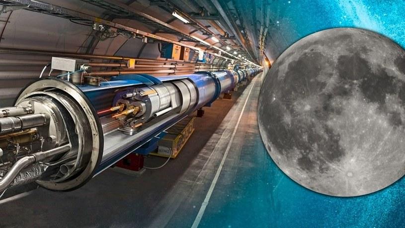 Wielki Zderzacz Hadronów poleci na Księżyc. NASA chce symulować Wielki Wybuch /Geekweek