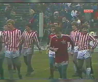Wielkie Derby Krakowa. Wisła Kraków - Cracovia 4-0. Skrót meczu z 1985 roku. Wideo