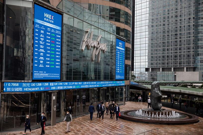 Wielkie pieniądze wypłyną na giełdach. Nz. siedziba giełdy w Hongkongu /EPA