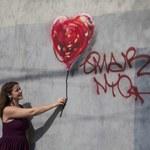 Wielkie polowanie na graffiti Banksy'ego