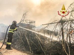 Wielkie pożary na Sardynii. Włochy proszą o pomoc