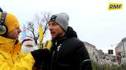 Wielkie rozpoczęcie naszej akcji w Kielcach. Piotr Kupicha rozdawał z nami drzewka!