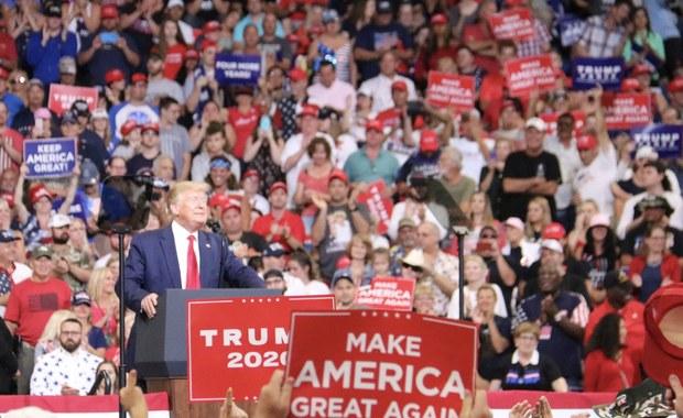 Wielkie show w Orlando. Donald Trump rozpoczął kampanię