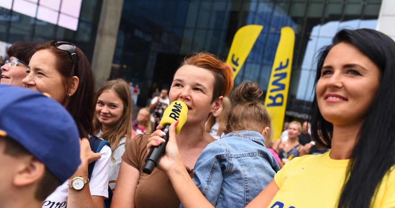 Wielkie śpiewanie na Placu Szewczyka w Katowicach