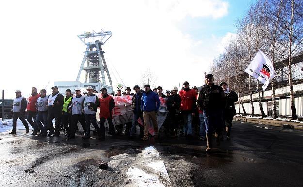 Wielkie zwycięstwo polskich górników... Fot. Jarek Praszkiewicz /FORUM