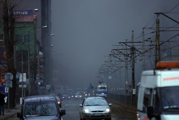 Wielkim problemem Krakowa jest niska emisja... Fot. Paweł Piotrowski /Reporter