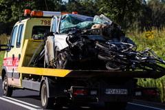 Wielkopolska: 5 osób zginęło w zderzeniu dwóch aut
