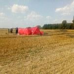 Wielkopolska: Awionetka runęła na ziemię. Zginął pilot