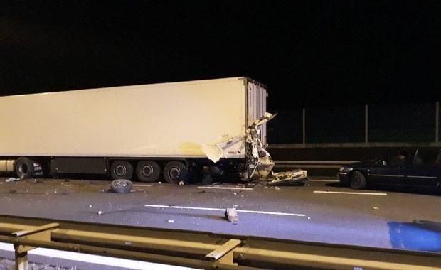 Wielkopolska: Tragiczny wypadek na A2. Jedna osoba nie żyje