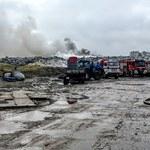 Wielkopolskie: Kolejny w tym roku pożar wysypiska w Pyszącej