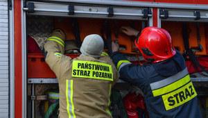 Wielkopolskie: Pożar ciężarówki wojskowej na S8