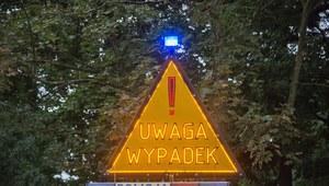 Wielkopolskie: Samochód zderzył się z ciężarówką