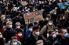 Wielotysięczna manifestacja na ulicach Berlina. Chodzi o wyrok niemieckiego TK