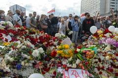 Wielotysięczna manifestacja na ulicach Mińska