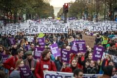 Wielotysięczna manifestacja przeciw przemocy wobec kobiet