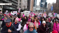 Wielotysięczne marsze kobiet w USA. Sprzeciw wobec polityki Donalda Trumpa