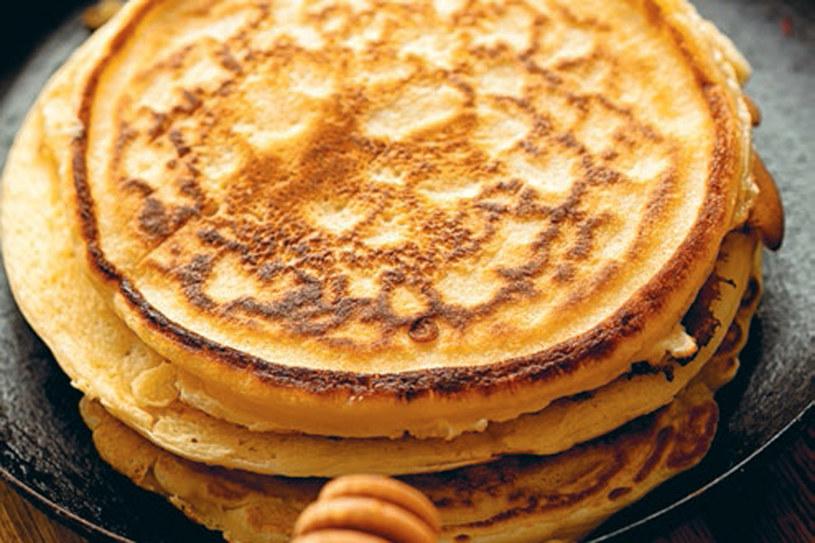 Wielozbożowe pancakes z otrębami /materiały prasowe