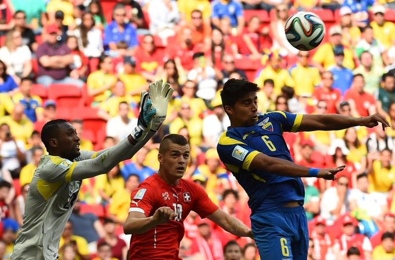 Wielu kibiców miało problemy z wejściem na stadion na mecz Szwajcaria - Ekwador /AFP