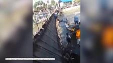 Wielu rannych po zawalaniu kładki w Indonezji