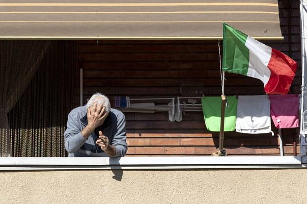 """""""Wiem, że wielu Włochów spędzi dzień Wielkanocy w samotności. Ja również"""" - powiedział prezydent Sergio Mattarella /MASSIMO PERCOSSI /PAP/EPA"""