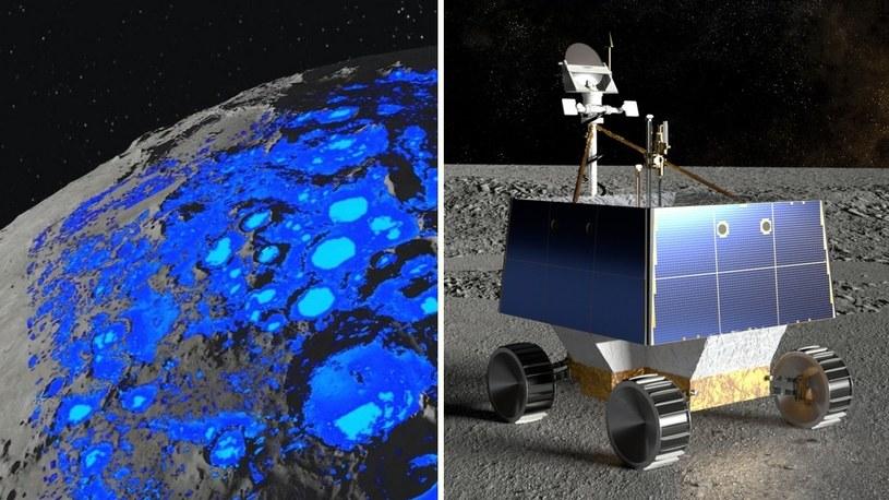 Wiemy, gdzie powstanie pierwsza baza na Księżycu. NASA wysyła tam łazik górniczy /Geekweek