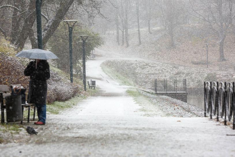 Wiemy, gdzie w ten weekend spadnie śnieg /Piotr Hukalo/East News /East News